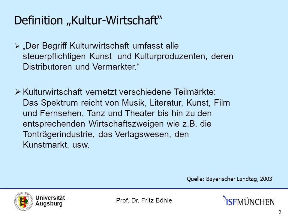"""Definition """"Kultur-Wirtschaft"""