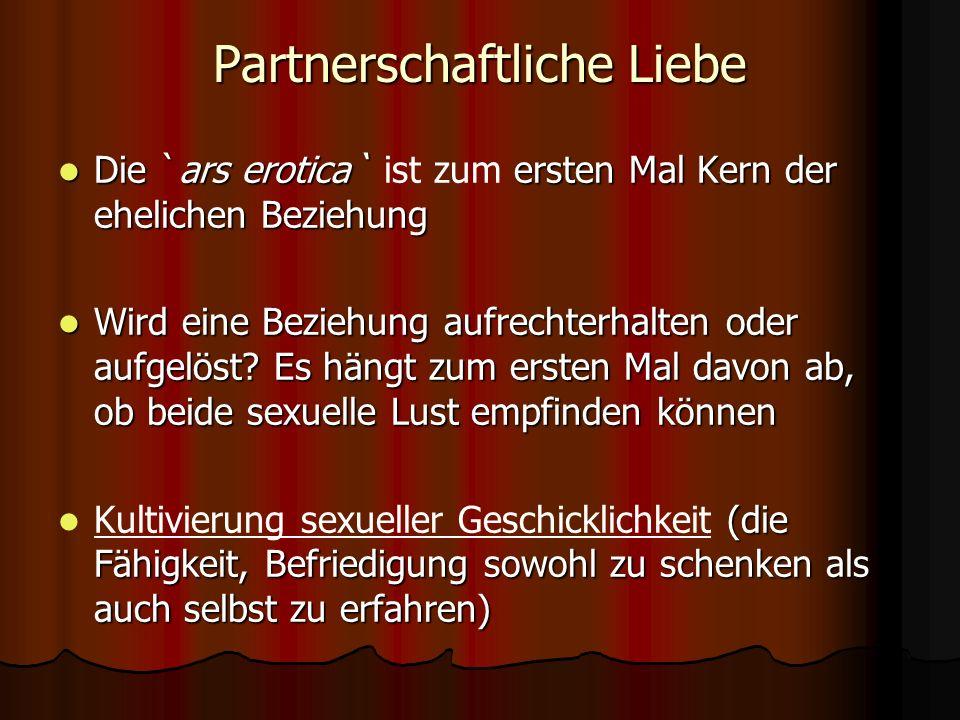 Partnerschaftliche Liebe
