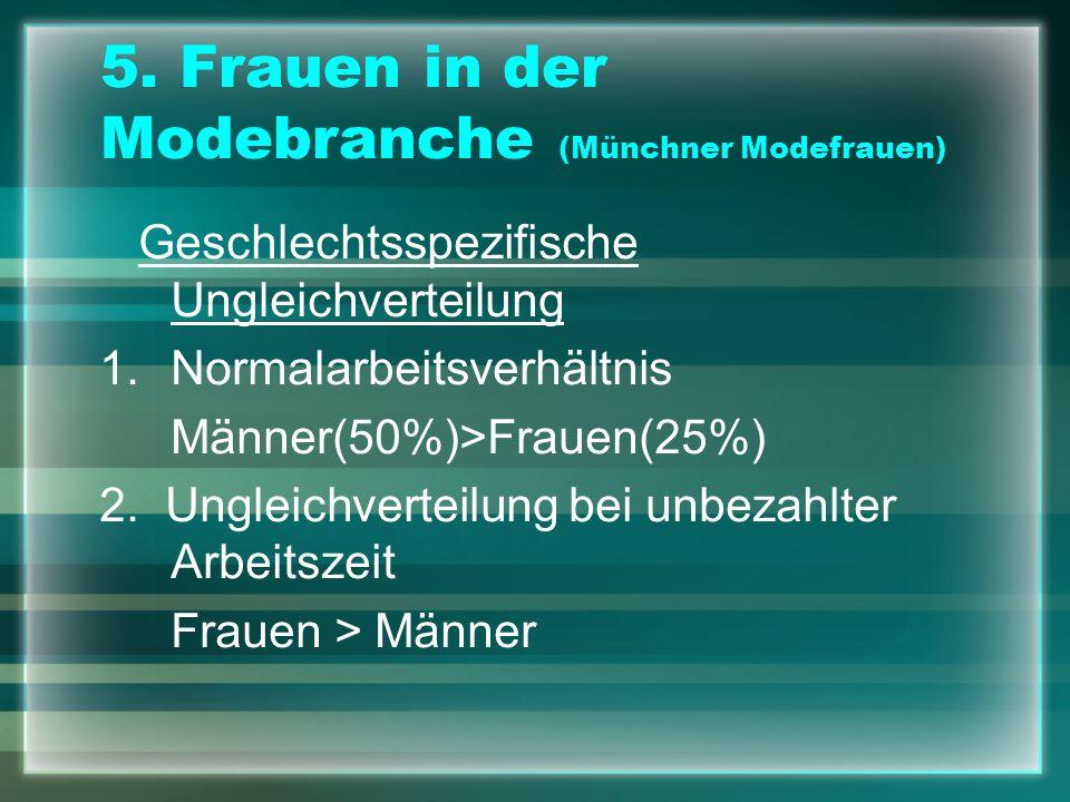 5. Frauen in der Modebranche (Münchner Modefrauen)
