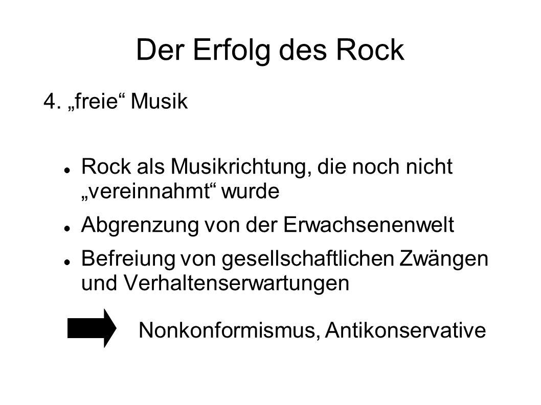 "Der Erfolg des Rock 4. ""freie Musik"