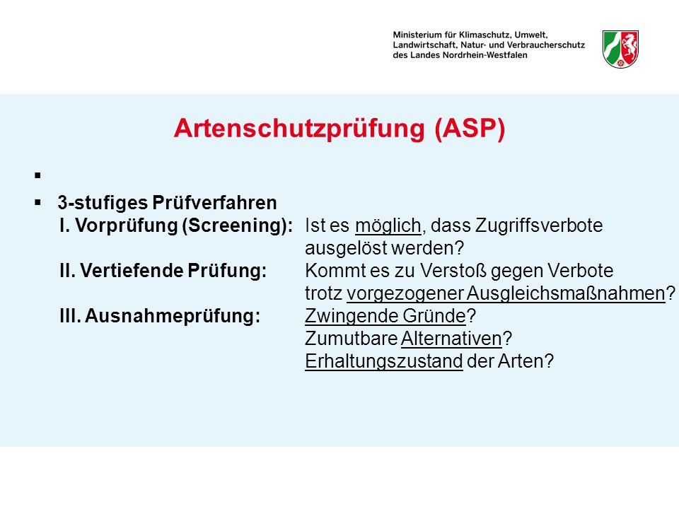 Artenschutzprüfung (ASP)