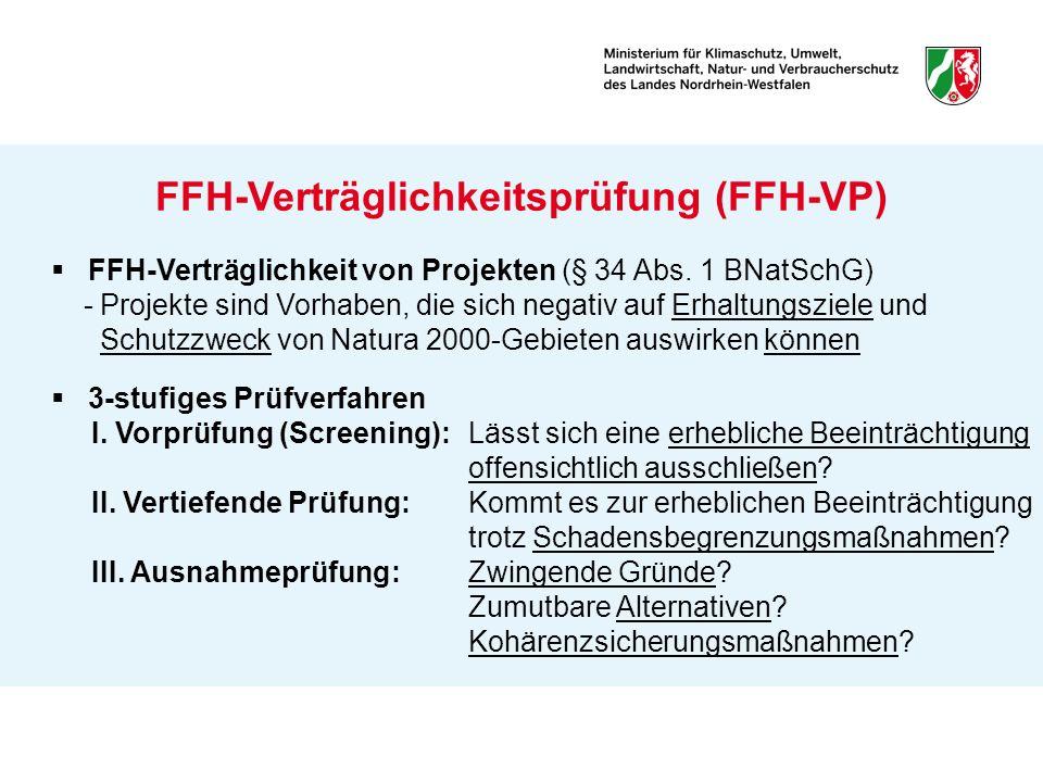 FFH-Verträglichkeitsprüfung (FFH-VP)