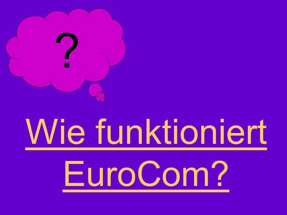 Wie funktioniert EuroCom