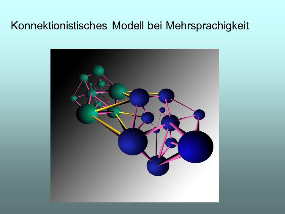 Konnektionistisches Modell bei Mehrsprachigkeit