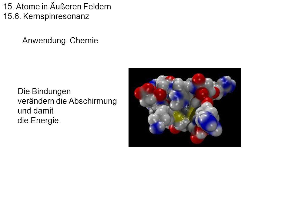 15. Atome in Äußeren Feldern