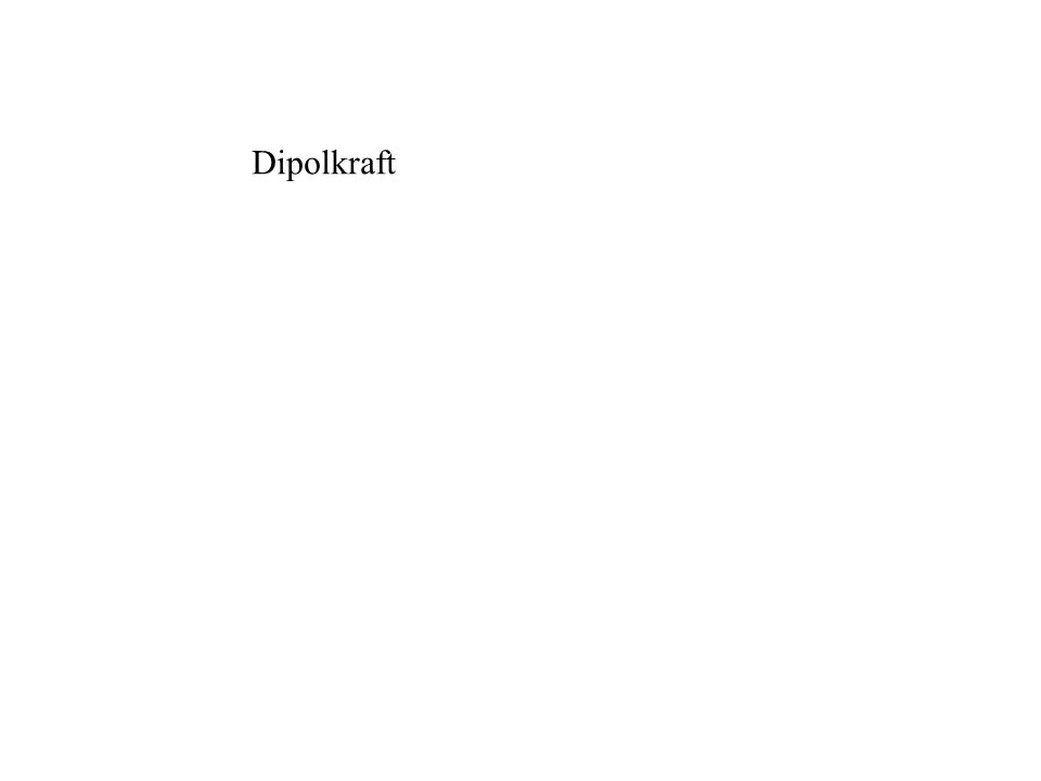 Dipolkraft