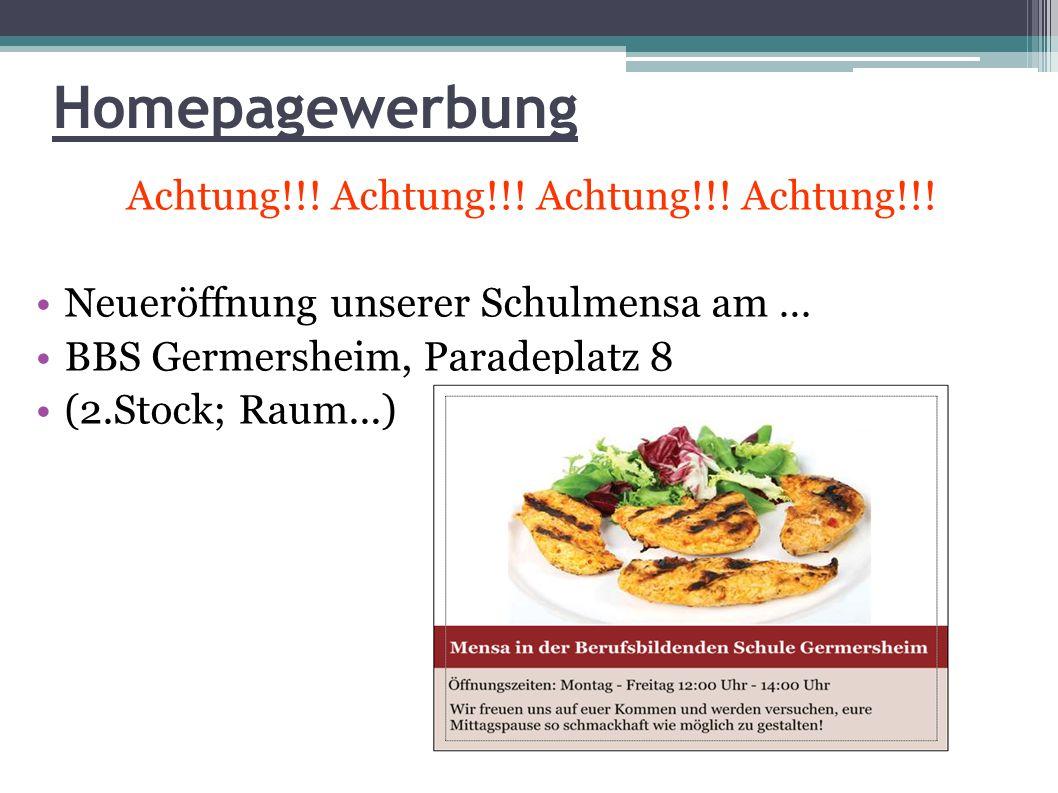 Achtung!!! Achtung!!! Achtung!!! Achtung!!!