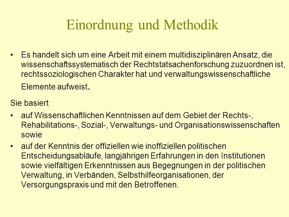 Einordnung und Methodik