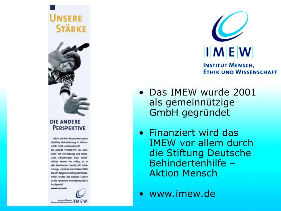 Informationen zum IMEW