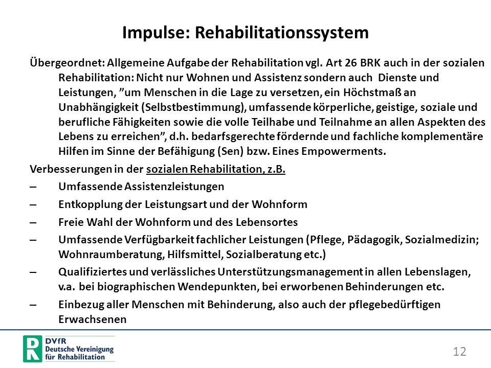 Impulse: Rehabilitationssystem