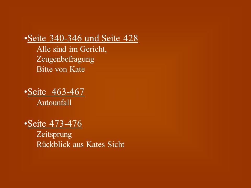 Seite 340-346 und Seite 428 Seite 463-467 Seite 473-476