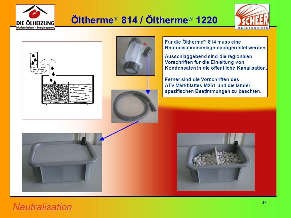 Öltherme Öltherme 814 / 814 / Öltherme Öltherme 1220 1220