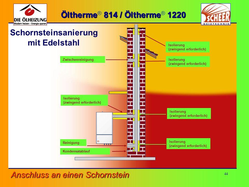 Schornsteinsanierung