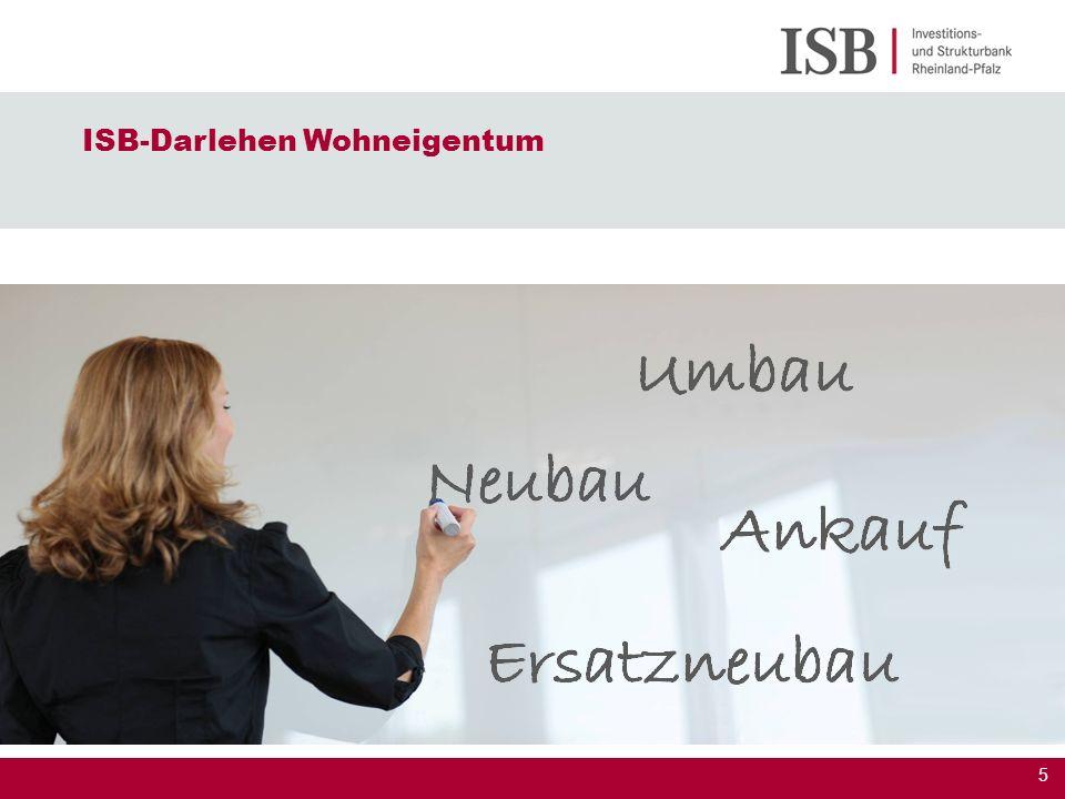 ISB-Darlehen Wohneigentum