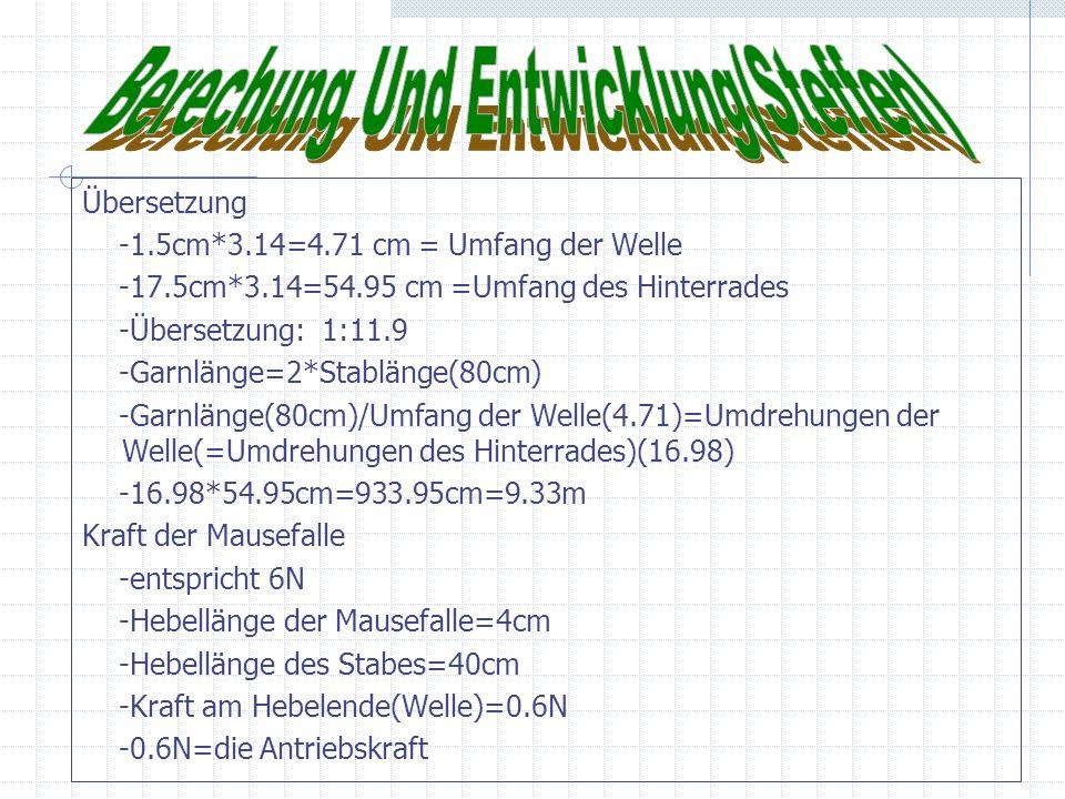 Berechung Und Entwicklung(Steffen)