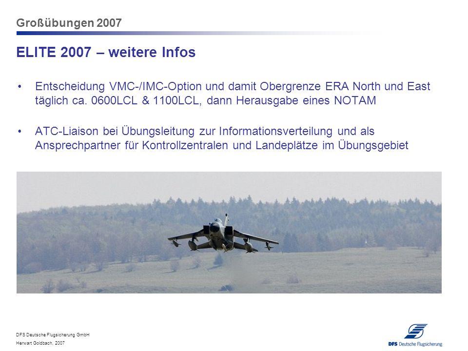 ELITE 2007 – weitere Infos Großübungen 2007