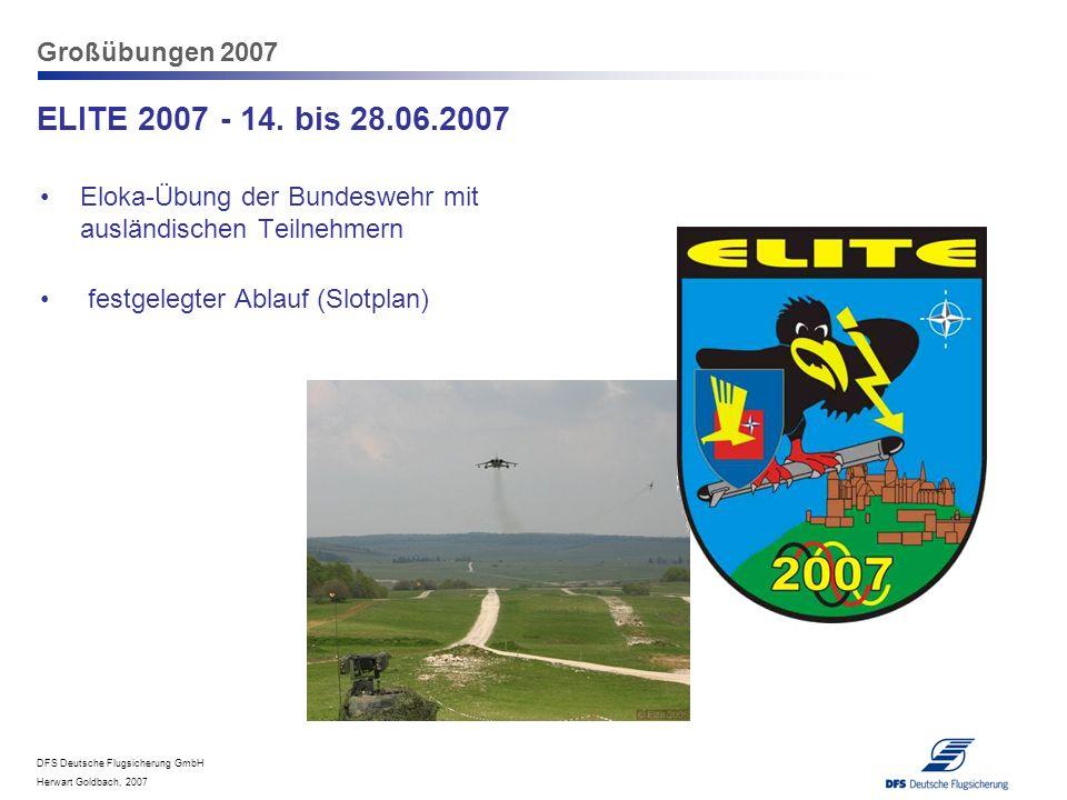 ELITE 2007 - 14. bis 28.06.2007 Großübungen 2007