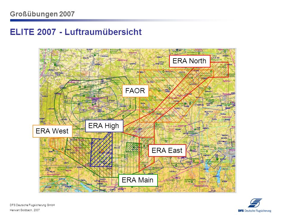 ELITE 2007 - Luftraumübersicht
