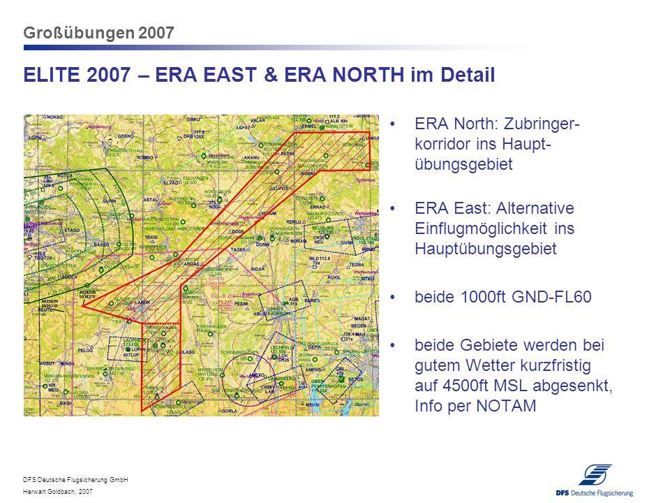 ELITE 2007 – ERA EAST & ERA NORTH im Detail