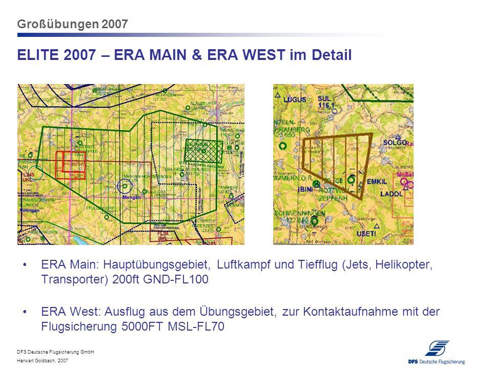 ELITE 2007 – ERA MAIN & ERA WEST im Detail