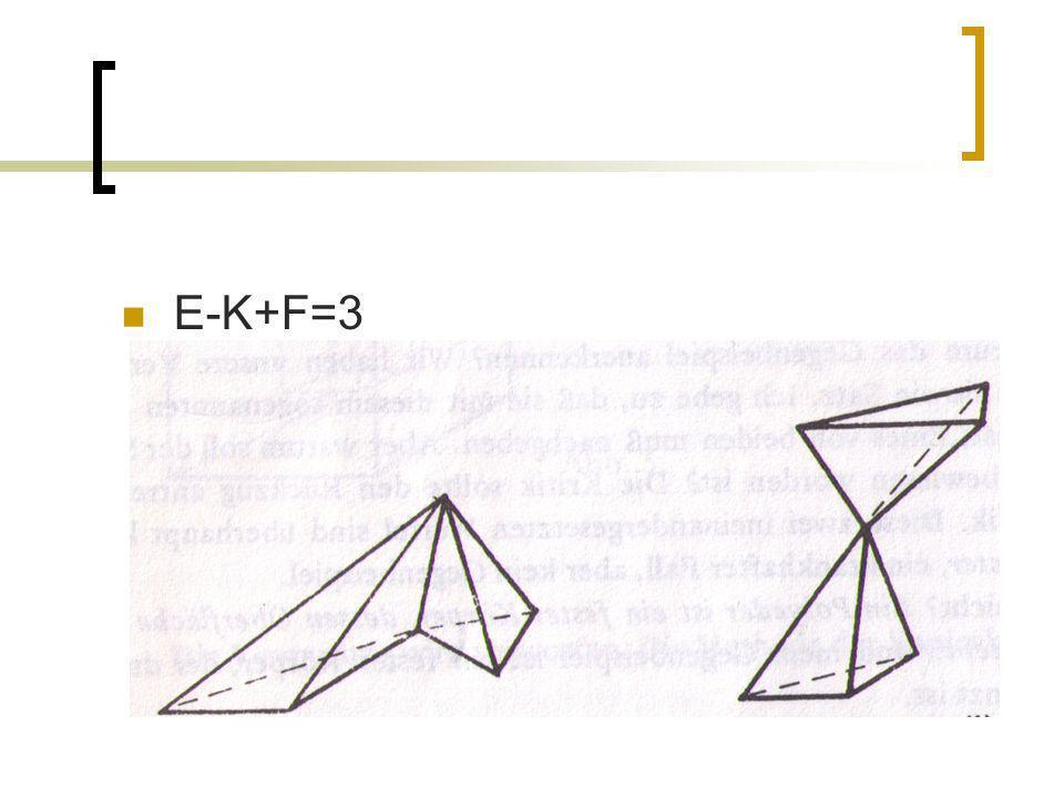 E-K+F=3