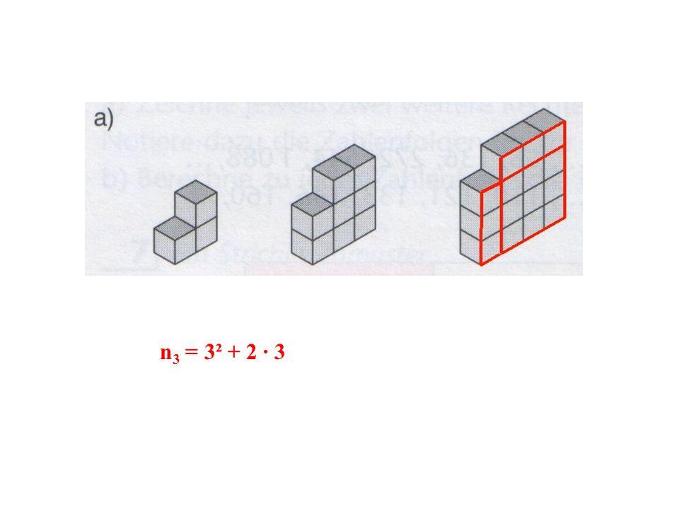 n3 = 3² + 2 · 3