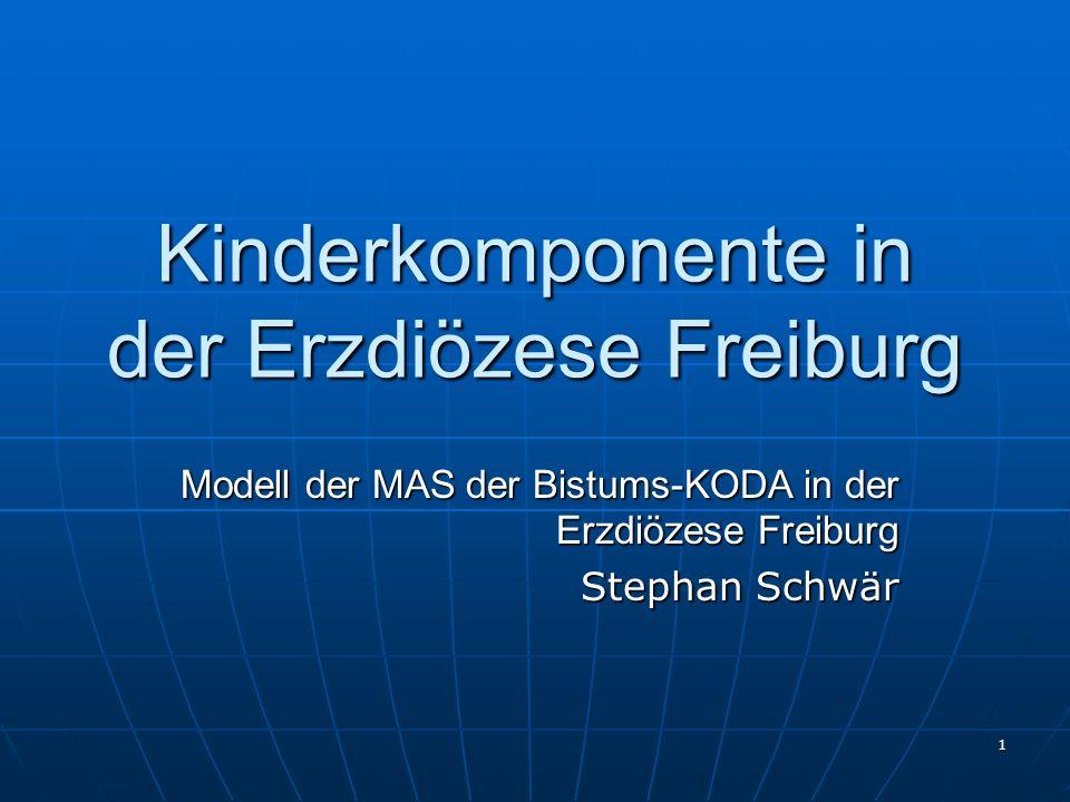 Kinderkomponente in der Erzdiözese Freiburg