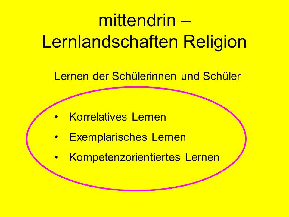 Lernlandschaften Religion