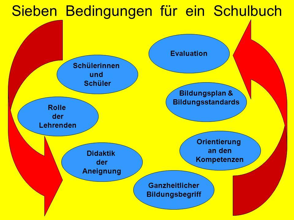Sieben Bedingungen für ein Schulbuch