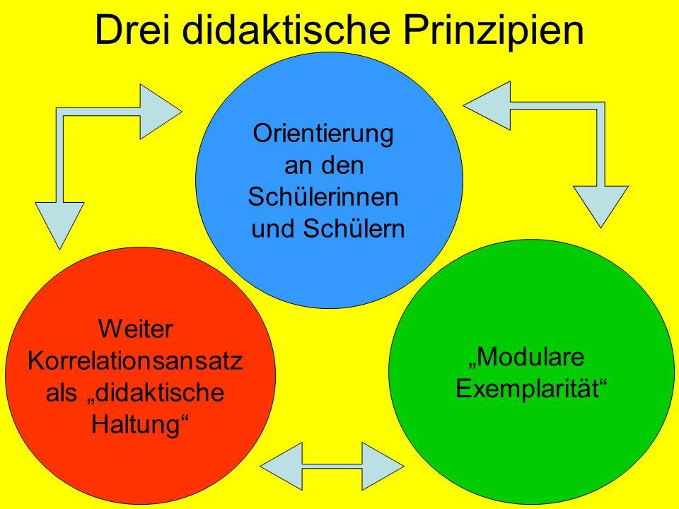 Drei didaktische Prinzipien