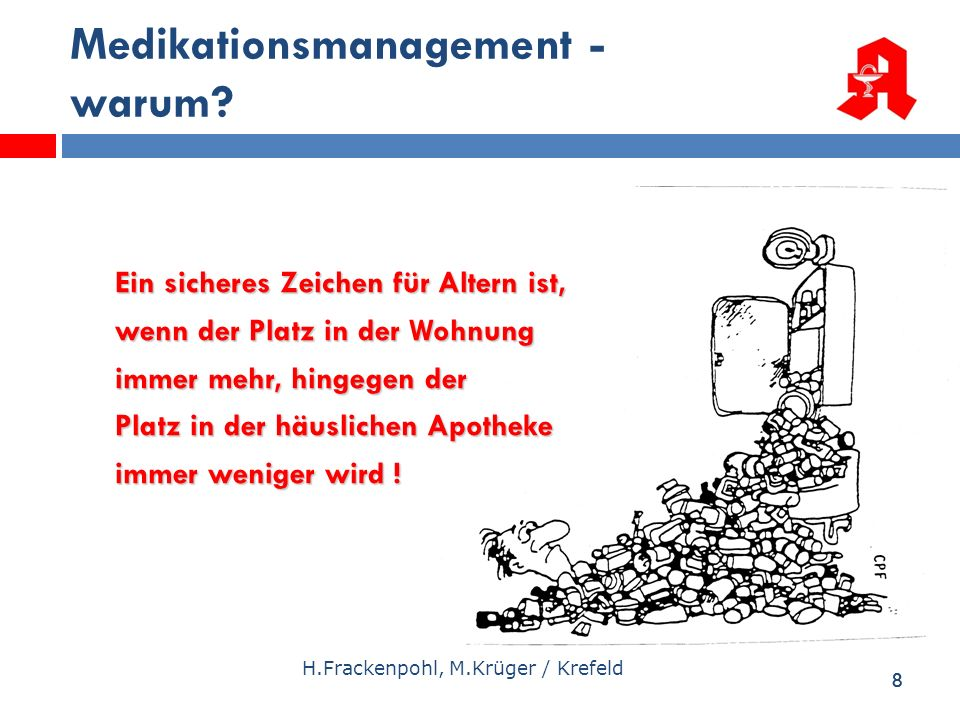 Medikationsmanagement - warum
