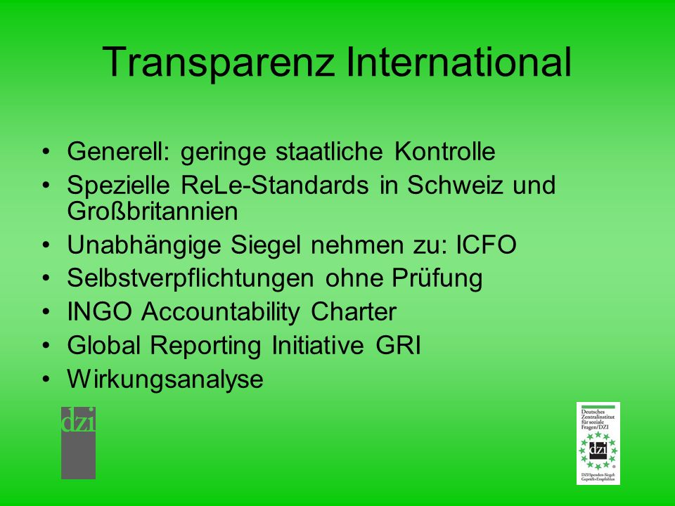 Transparenz International
