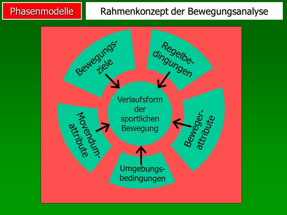 Rahmenkonzept der Bewegungsanalyse