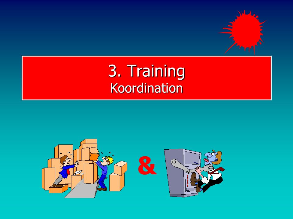 3. Training Koordination