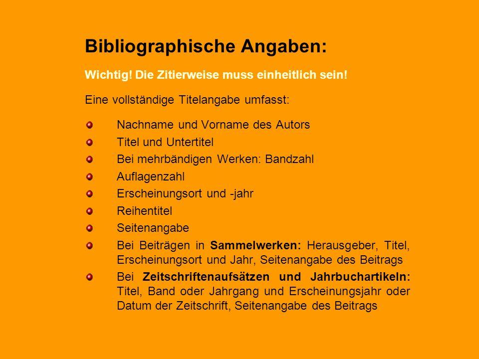 Bibliographische Angaben:
