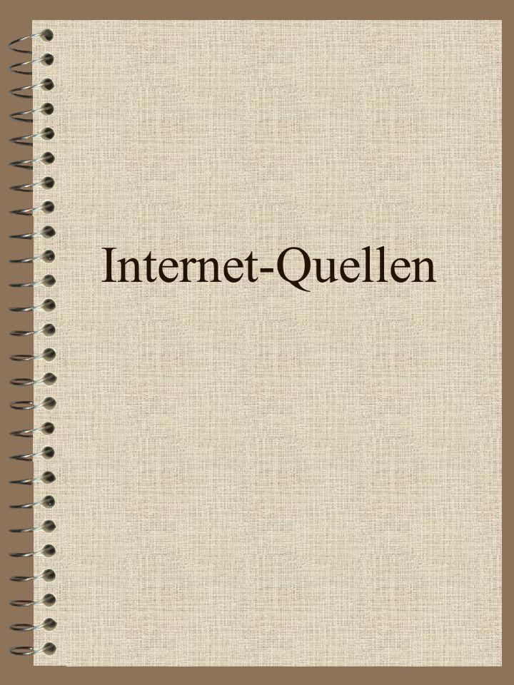 Internet-Quellen