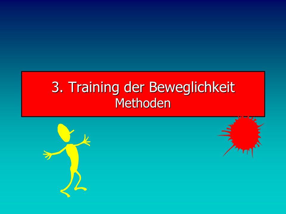 3. Training der Beweglichkeit Methoden
