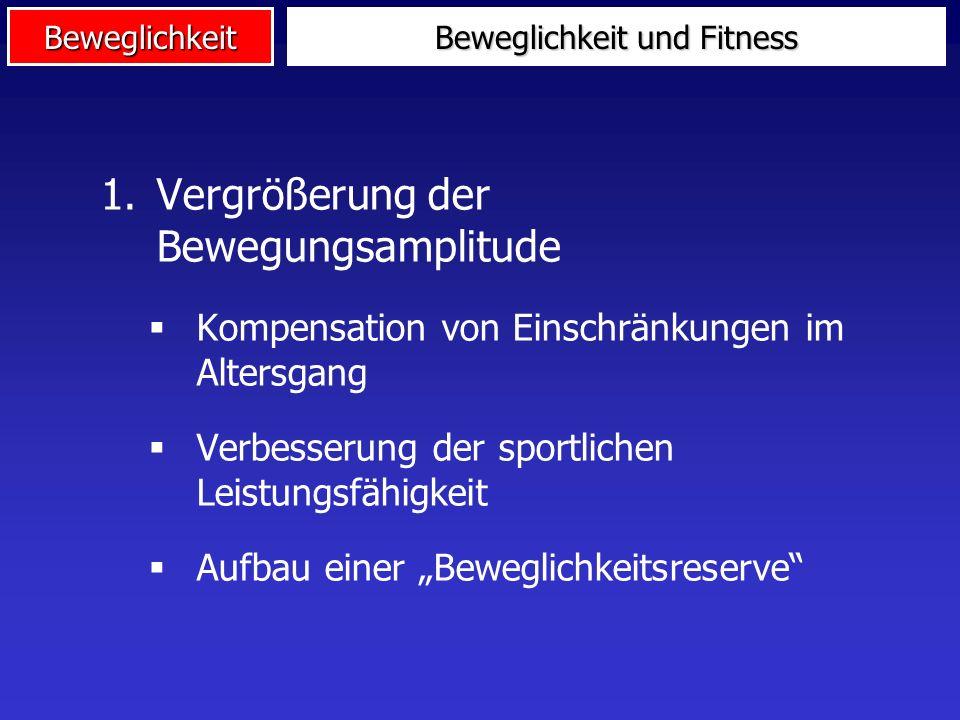 Beweglichkeit und Fitness