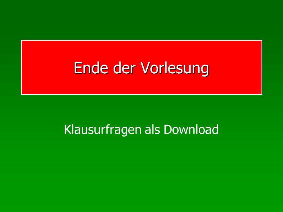 Klausurfragen als Download