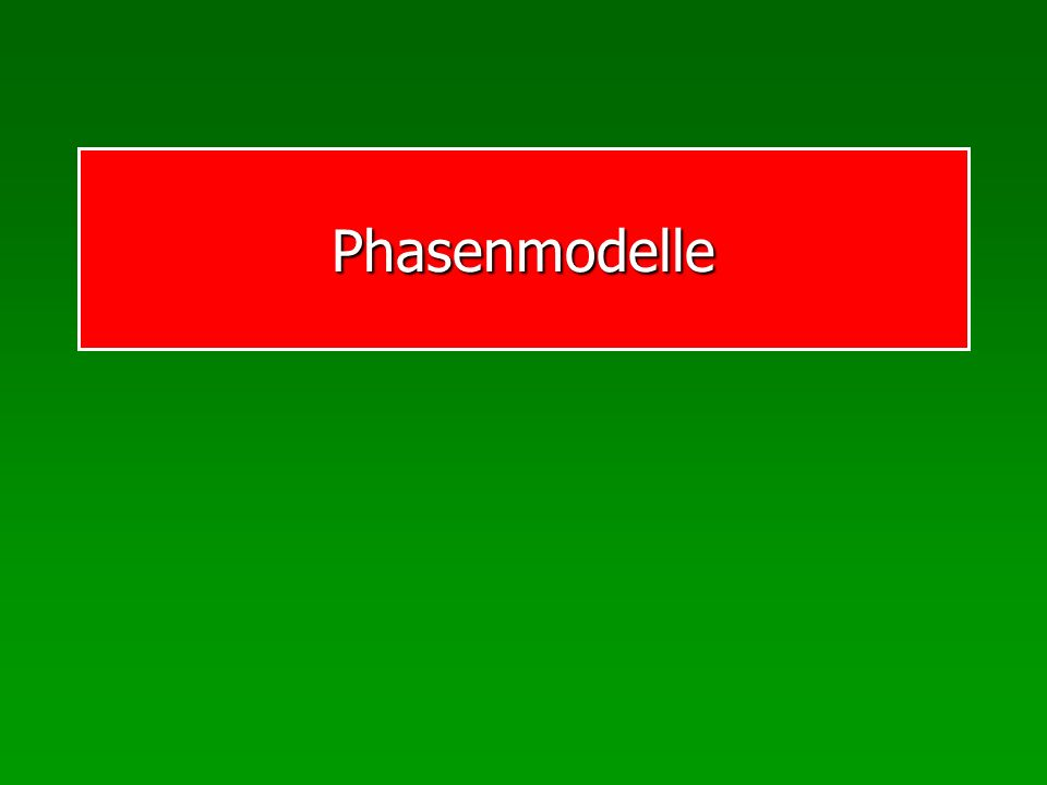 Phasenmodelle