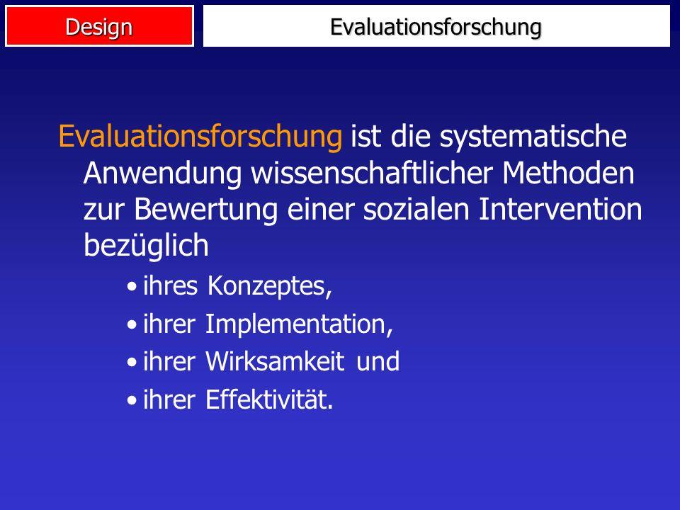 Evaluationsforschung