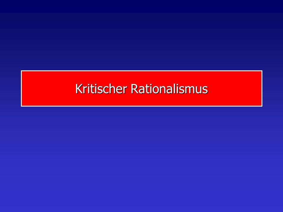 Kritischer Rationalismus