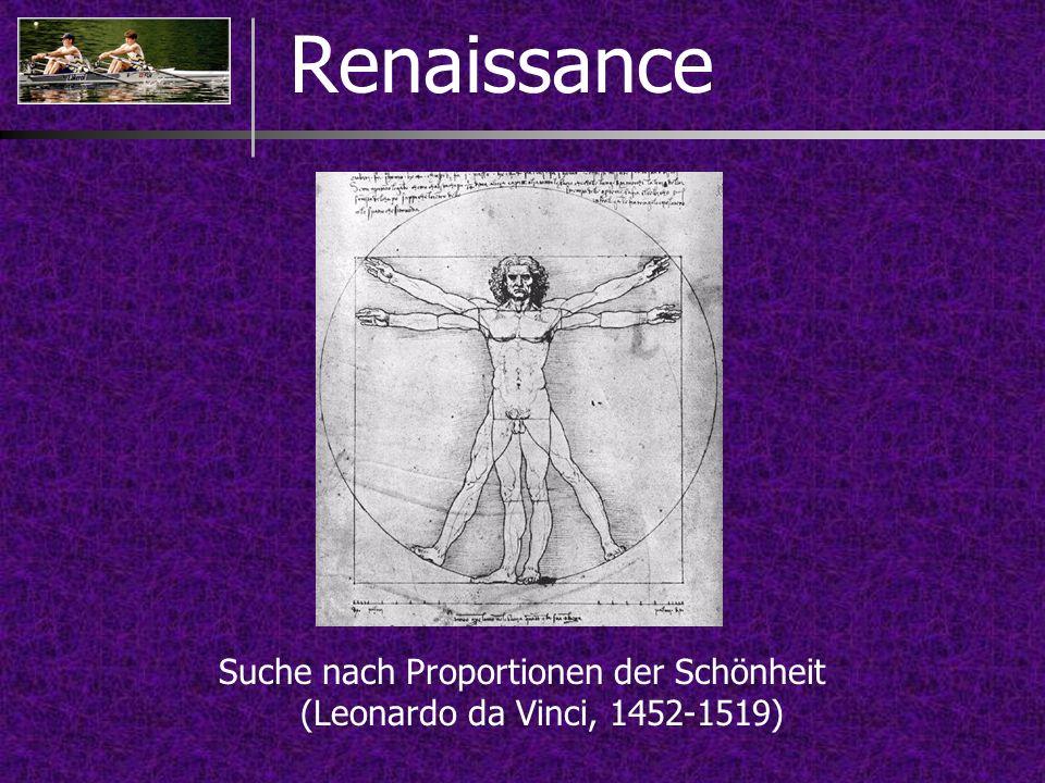 Suche nach Proportionen der Schönheit (Leonardo da Vinci, 1452-1519)