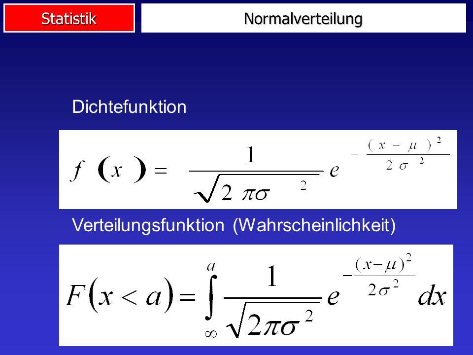 Verteilungsfunktion (Wahrscheinlichkeit)