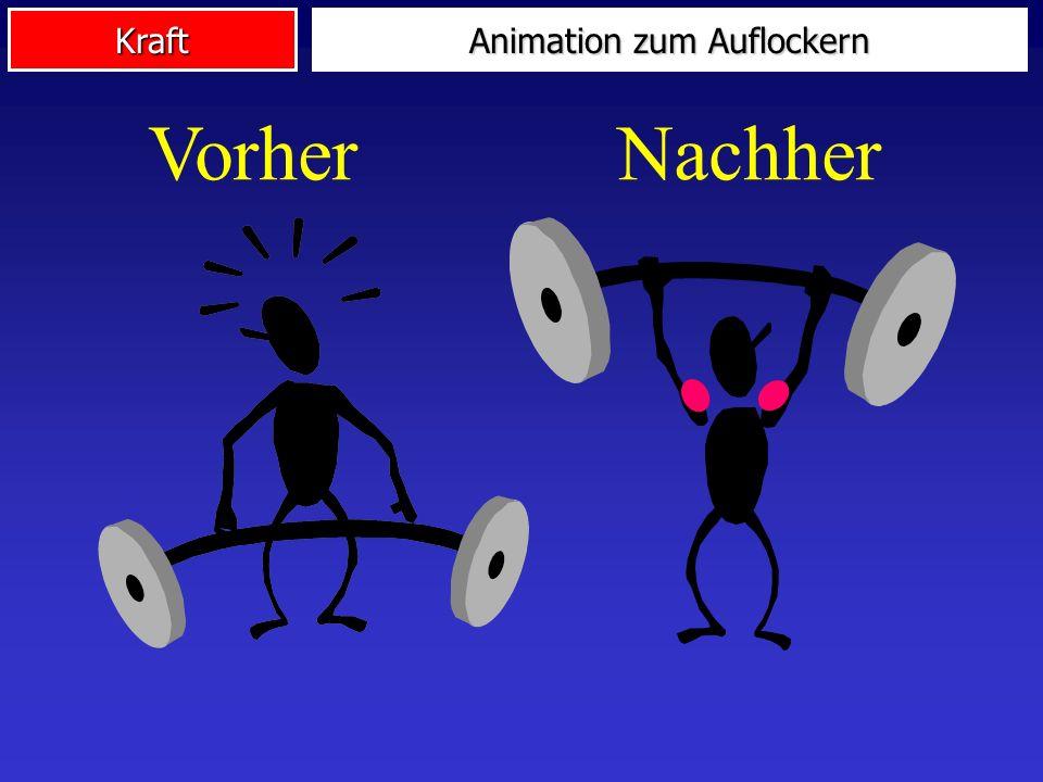 Animation zum Auflockern