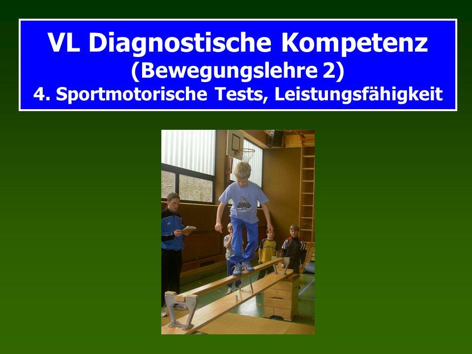 VL Diagnostische Kompetenz (Bewegungslehre 2) 4