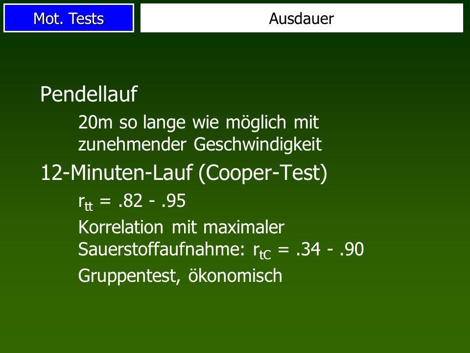 12-Minuten-Lauf (Cooper-Test)