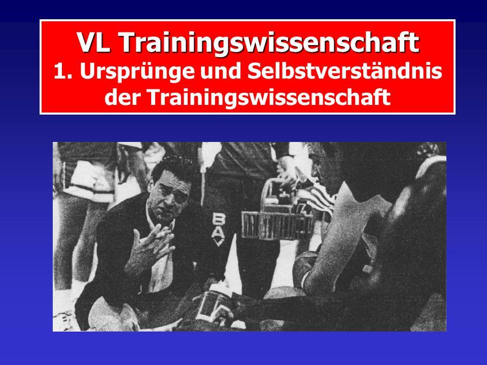VL Trainingswissenschaft 1
