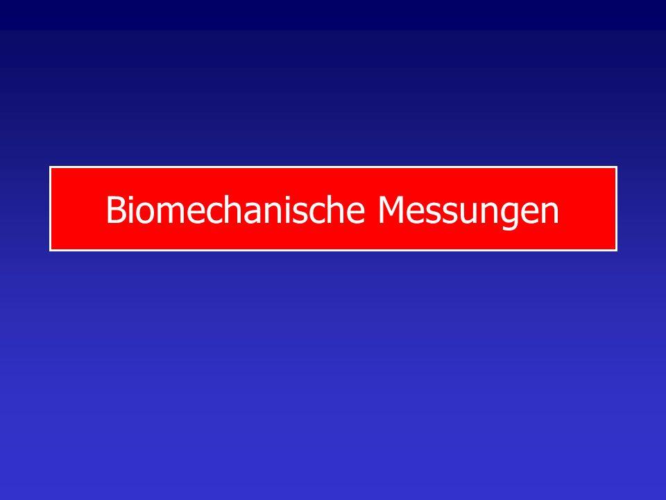 Biomechanische Messungen