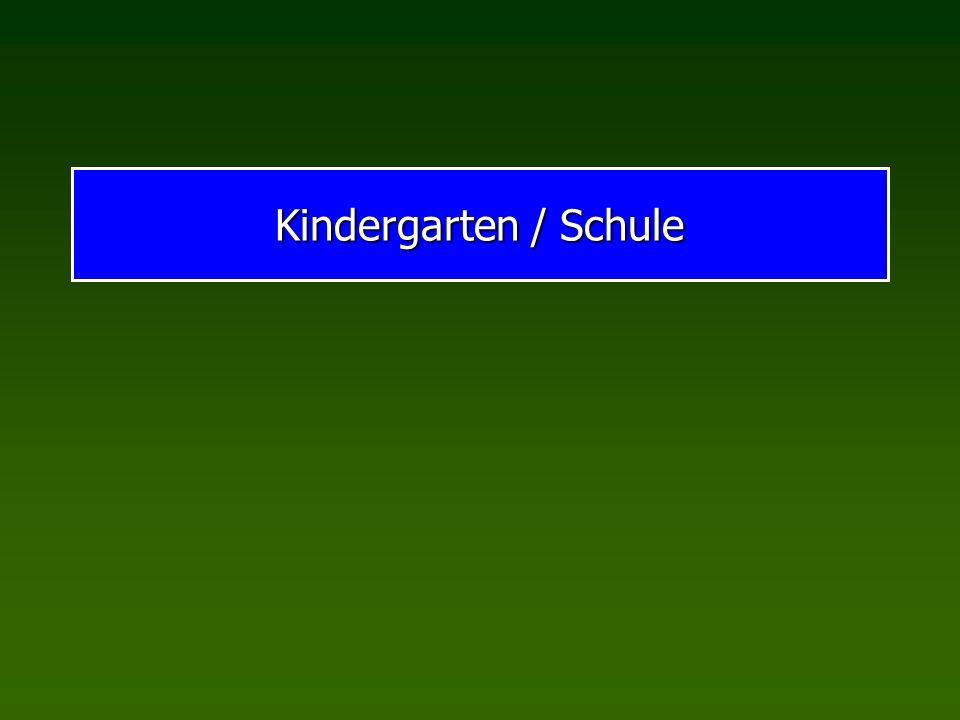 Kindergarten / Schule